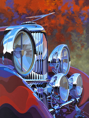 colorful automotive artwork